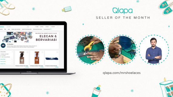 Seller of The Month Qlapa.com