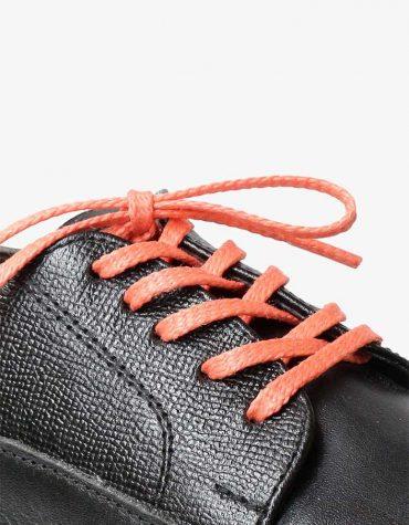 tali-sepatu-lilin-mrshoelaces-thin-flat-gari-orange