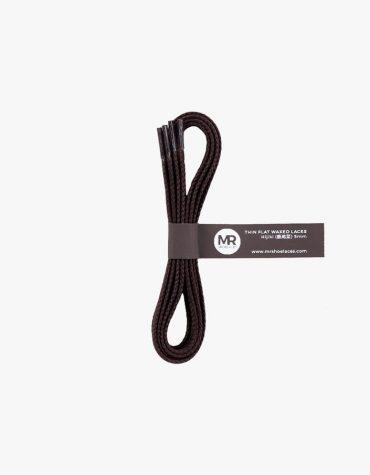 tali-sepatu-lilin-mrshoelaces-thin-flat-hijiki-dark-brown