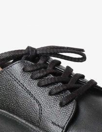 tali-sepatu-lilin-mrshoelaces-thin-flat-ikasumi-black-pearl