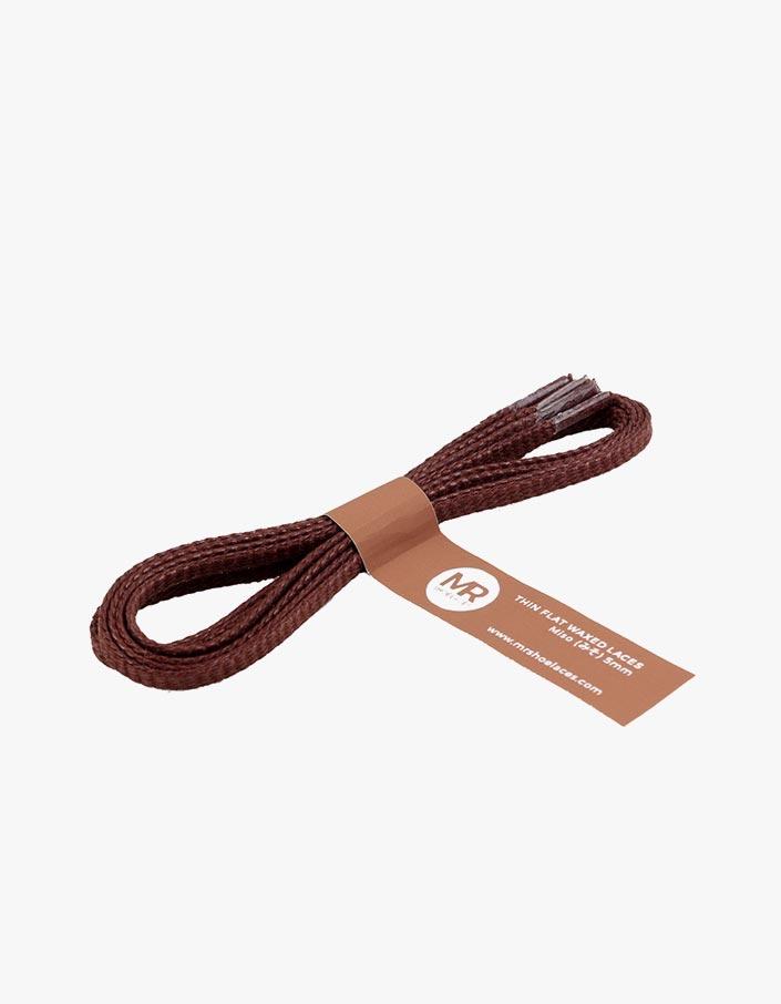 tali-sepatu-lilin-mrshoelaces-thin-flat-miso-brown