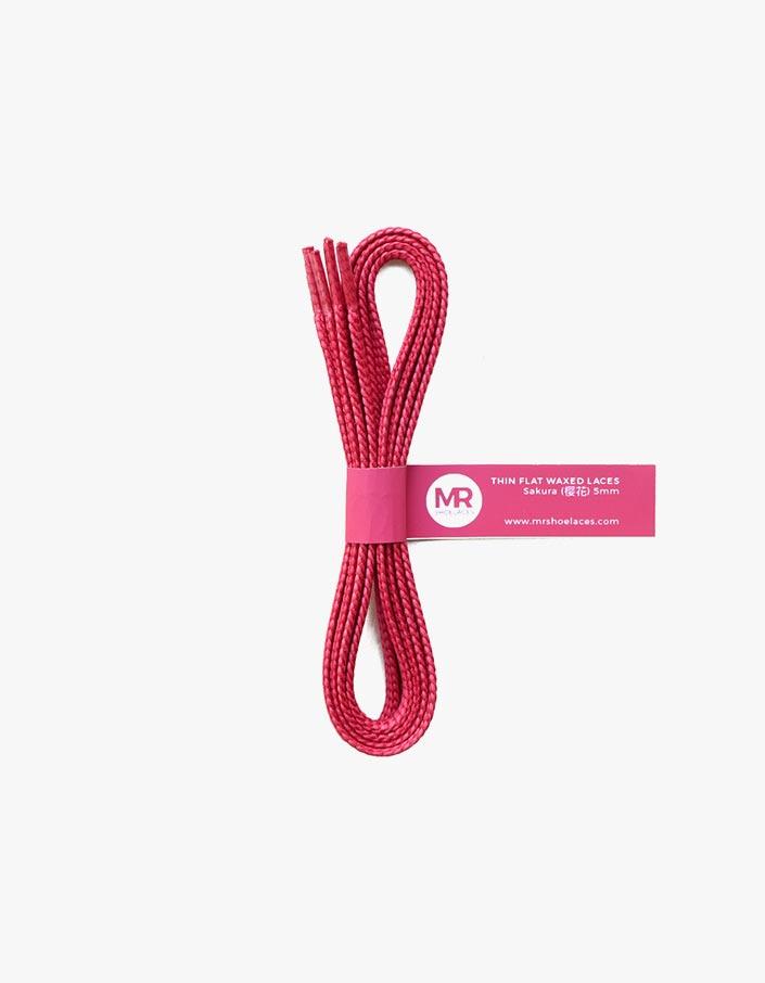 tali-sepatu-lilin-mrshoelaces-thin-flat-sakura-pink