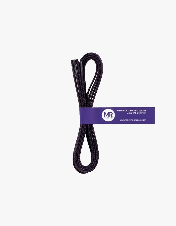 tali-sepatu-lilin-mrshoelaces-thin-flat-ume-dark-purple
