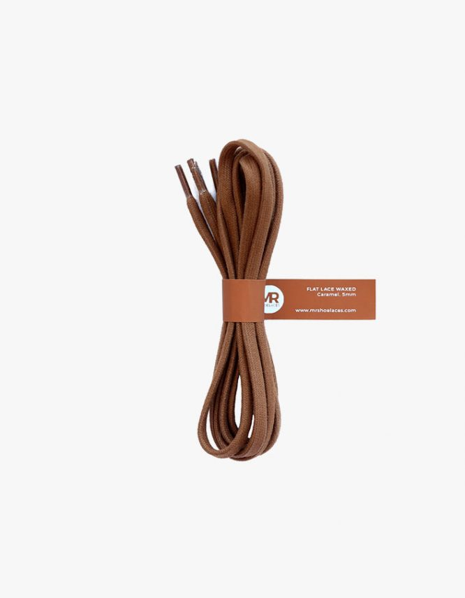 tali-sepatu-lilin-gepeng-5mm-mrshoelaces-flat-waxed-shoelaces-caramel