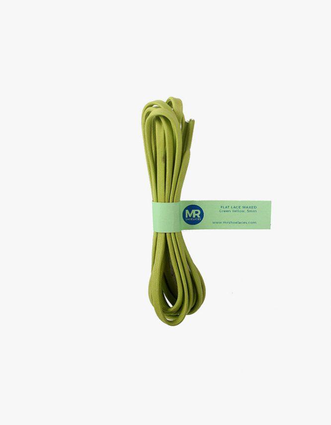tali-sepatu-lilin-gepeng-5mm-mrshoelaces-flat-waxed-shoelaces-green-yellow